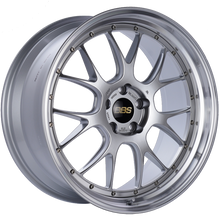 Load image into Gallery viewer, BBS LM-R 21x10 5x120 ET35 Diamond Silver Center Diamond Cut Lip Wheel -82mm PFS/Clip Required