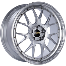 Load image into Gallery viewer, BBS LM-R 21x9 5x120 ET32 Diamond Silver Center Diamond Cut Lip Wheel -82mm PFS/Clip Required