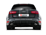 Akrapovic 14-17 Audi RS6 Avant (C7) Evolution Line Cat Back (Titanium) w/ Carbon Tips
