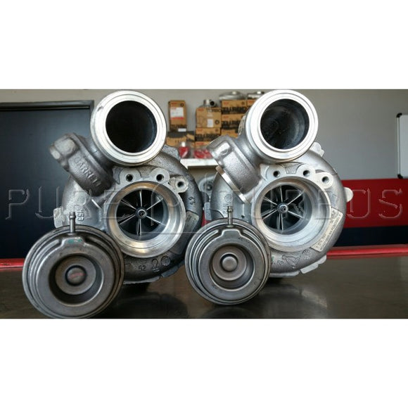 PURE N63/N63tu Stage 1 Upgrade Turbo