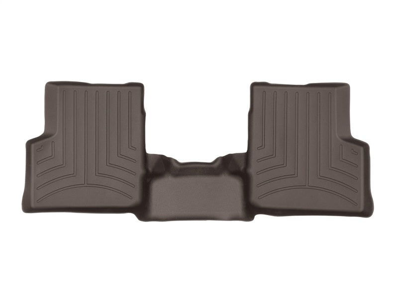 WeatherTech 18+ Land Rover Range Rover (LWB/No 2nd Row Console) Rear FloorLiner - Cocoa