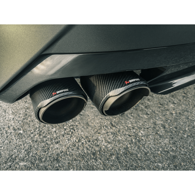 Akrapovic 2019 BMW Z4 M40i (G29) Slip-On Line (Titanium) w/Carbon Fiber Tips