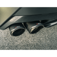 Load image into Gallery viewer, Akrapovic 2019 BMW Z4 M40i (G29) Slip-On Line (Titanium) w/Carbon Fiber Tips