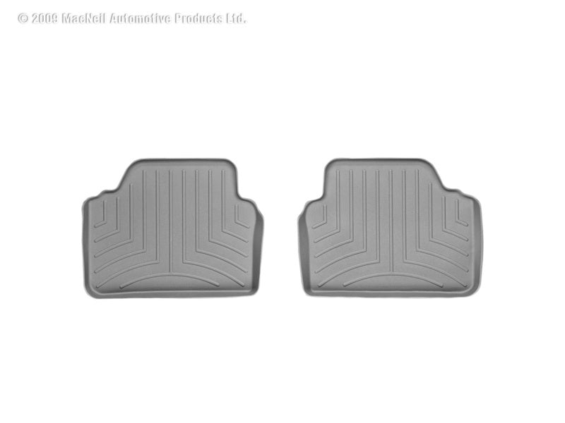 WeatherTech 06-12 BMW 328xi Rear FloorLiner - Grey