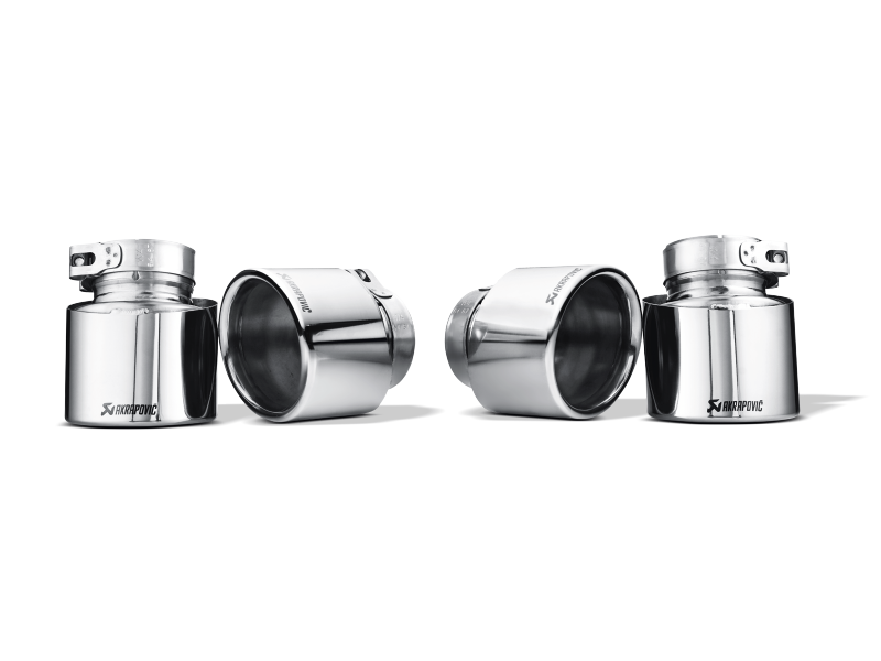 Akrapovic 09-14 BMW X5M (E70) Tail Pipe Set (Titanium)