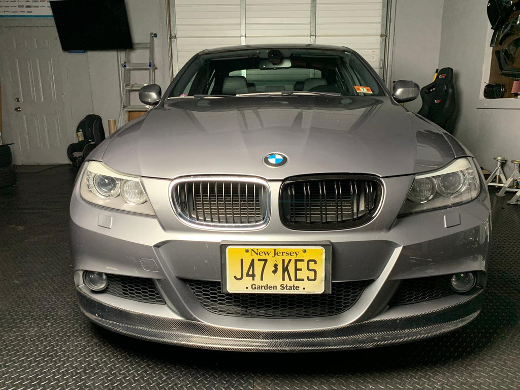 2008-2012 BMW LCI E90 3 Series Double Slatted Kidney Grills
