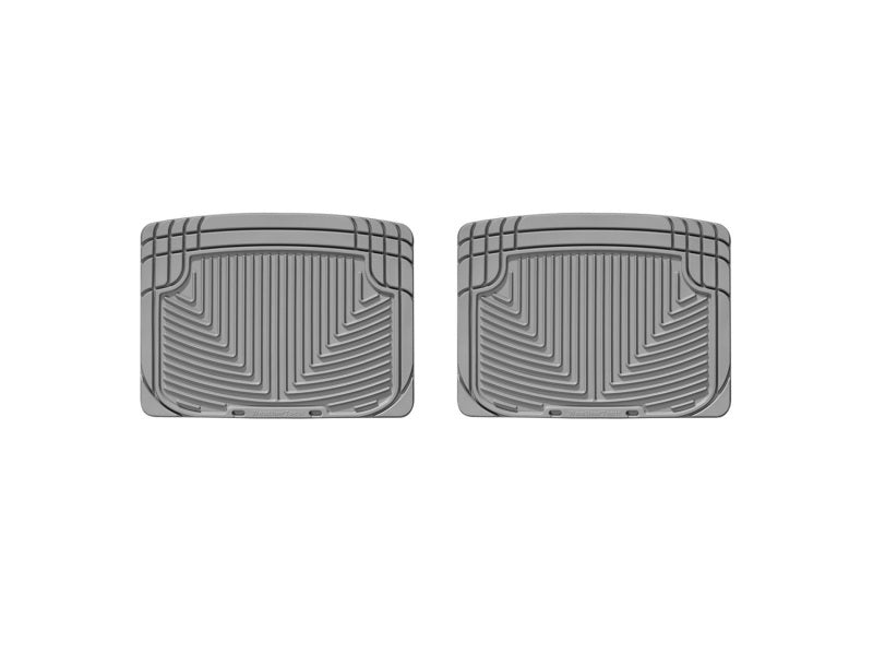 WeatherTech 93 Mercedes-Benz 300CE Rear Rubber Mats - Grey