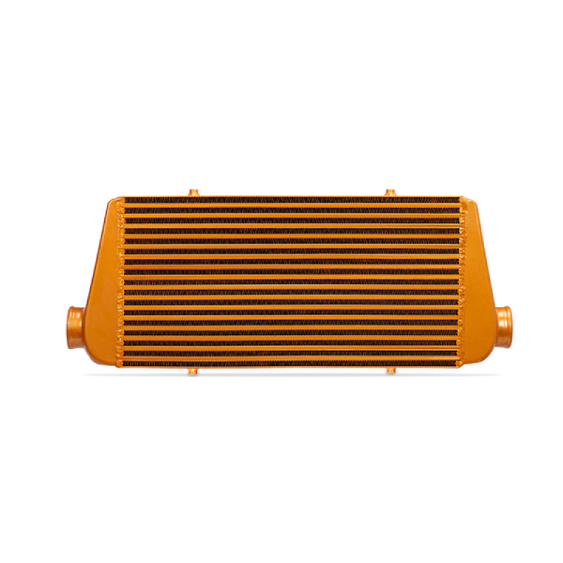 Mishimoto Universal Silver R Line Intercooler Overall Size: 31x12x4 Core Size: 24x12x4 Inlet / Outle