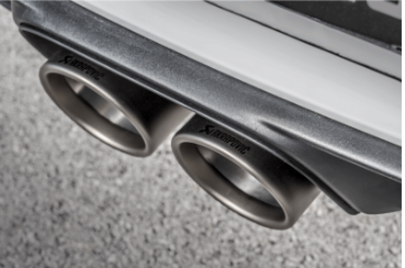 Akrapovic 2018 Porsche 911 GT3 (991.2) Tail Pipe Set (Titanium)