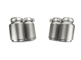 Akrapovic 14-17 BMW M3/M4 (F80/F82) Tail Pipe Set (Titanium)