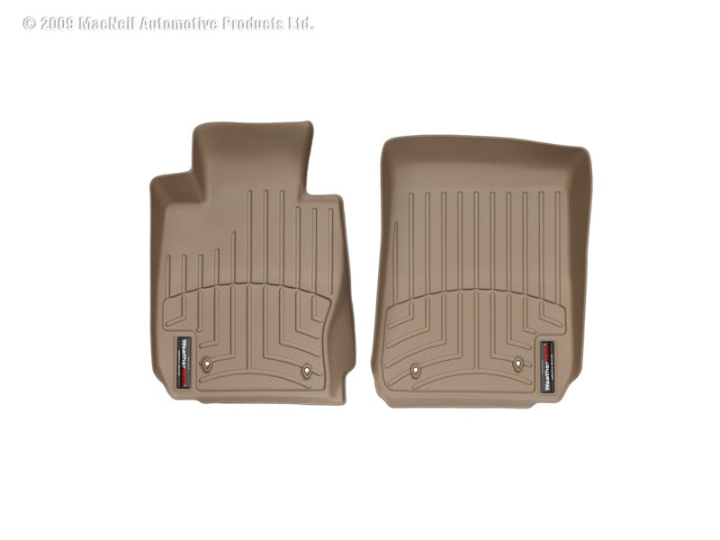 WeatherTech 06-12 BMW 328xi Front FloorLiner - Tan