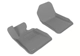 3D MAXpider 2007-2013 BMW 3 Series E93 Kagu 1st Row Floormat - Gray