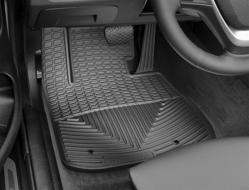 WeatherTech 2014+ BMW 4-Series Front Rubber Mats - Black
