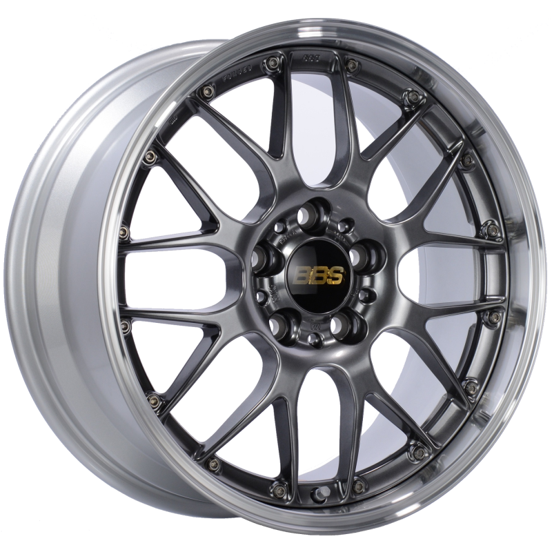 BBS RS-GT 19x9.5 5x120 ET40 CB72.5 Diamond Black Center Diamond Cut Lip Wheel