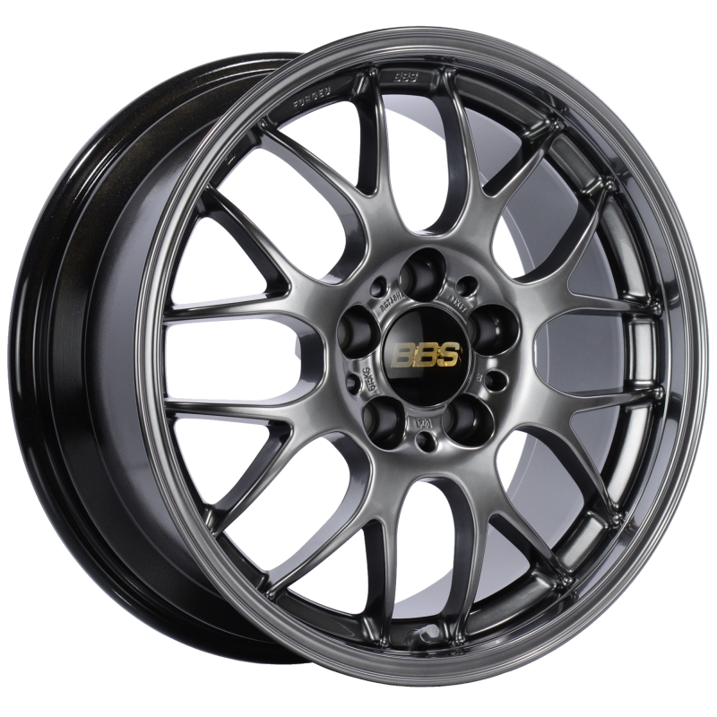 BBS RG-R 17x9 5x120 ET42 Diamond Black Wheel -82mm PFS/Clip Required