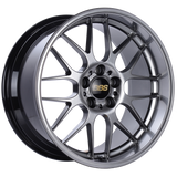 BBS RG-R 18x8.5 5x120 ET13 Diamond Black Wheel -82mm PFS/Clip Required