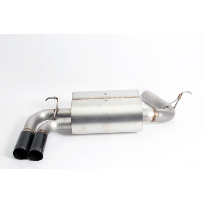 Dinan Free Flow Stainless Steel Exhaust w/ Black Tips -BMW 328i 2015-2012 328i xDrive 2015-2013