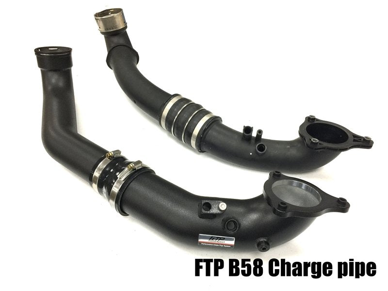 FTP BMW F30 F20 B58 3.0T CHARGE PIPE V2 ( G-SERIES ALSO)