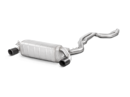Akrapovic 16-17 BMW M240i (F22/F23) Evolution Line Stainless Steel Cat Back Exhaust System