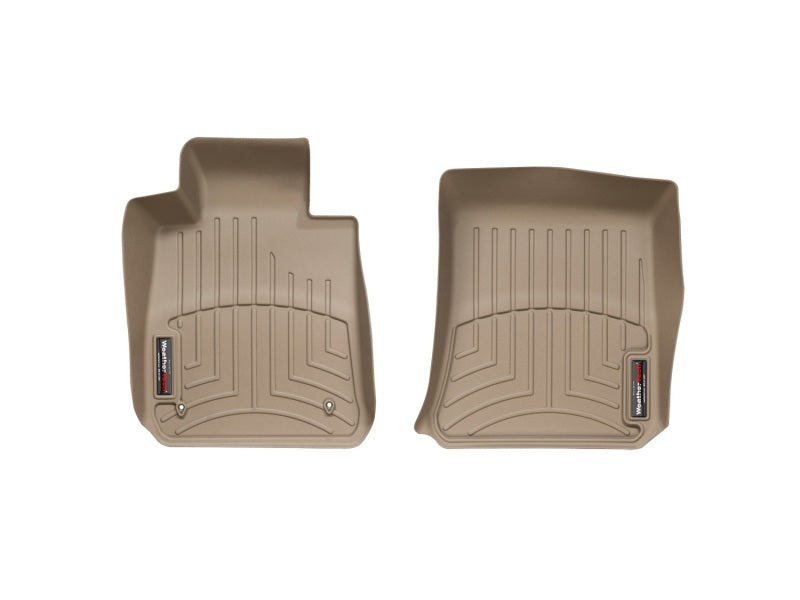 WeatherTech 08+ BMW 1-Series (E82/E88) Front FloorLiner - Tan