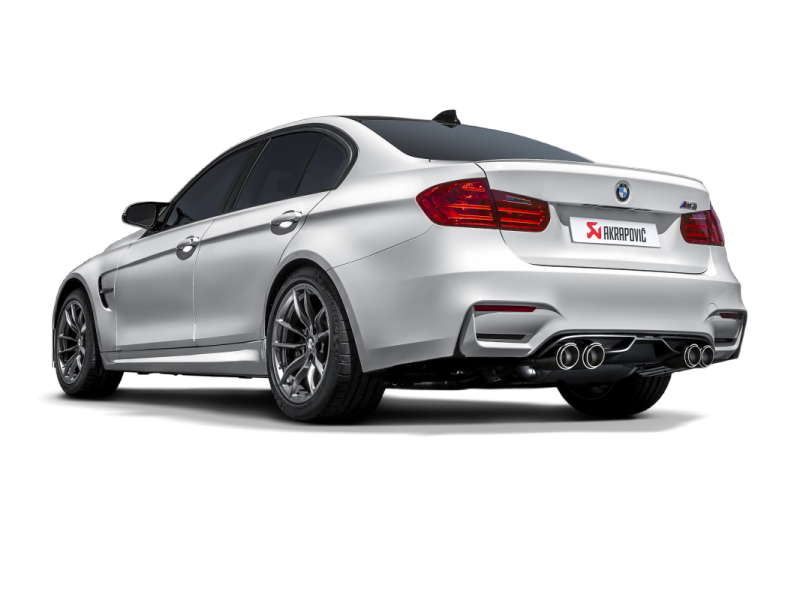 Akrapovic 14-17 BMW M3/M4 (F80/F82) Slip-On Line (Titanium) (Req. Tips)