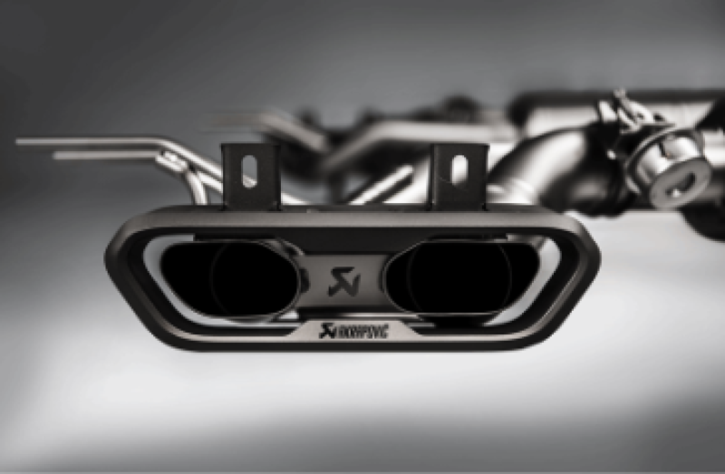 Akrapovic 15-17 Mercedes Benz G63 AMG (W463) Evolution Line Cat Back (Titanium) w/ Titanium Tips
