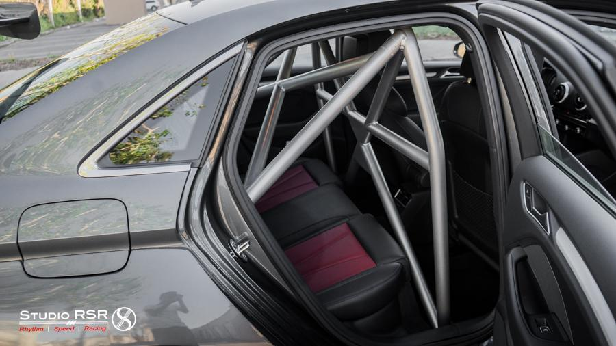 StudioRSR DOM Roll Cage / Roll Bar for Audi S3