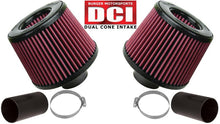 Load image into Gallery viewer, Burger Motorsports N54 Dual Cone Performance Intake