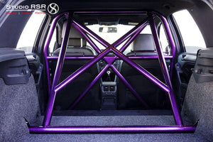 StudioRSR Chromoly Roll Cage / Roll Bar VW Golf R MK6