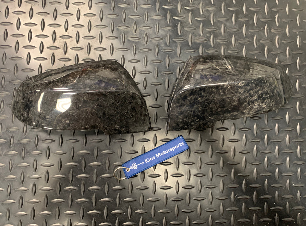 2012-2018 BMW F30 3 Series / F32 4 Series OEM Style Forged Carbon Composite Mirror Covers