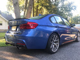 2012-2018 BMW F30 3 Series M Sport Style Rear Bumper Conversion