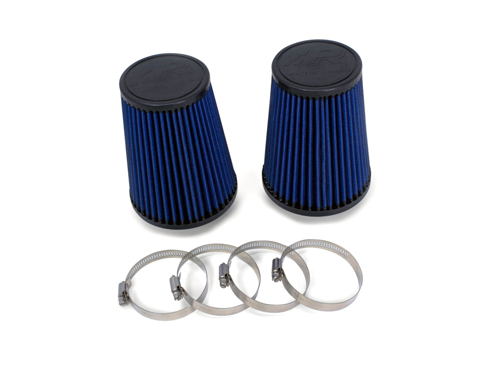 Precision Raceworks Replacement Air Filters (PAIR) For Relocated Inlets