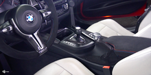 Load image into Gallery viewer, Genuine Bmw M Performance Armrest In Alcantara - F80/F82/F83 M3 M4 - Kies Motorsports
