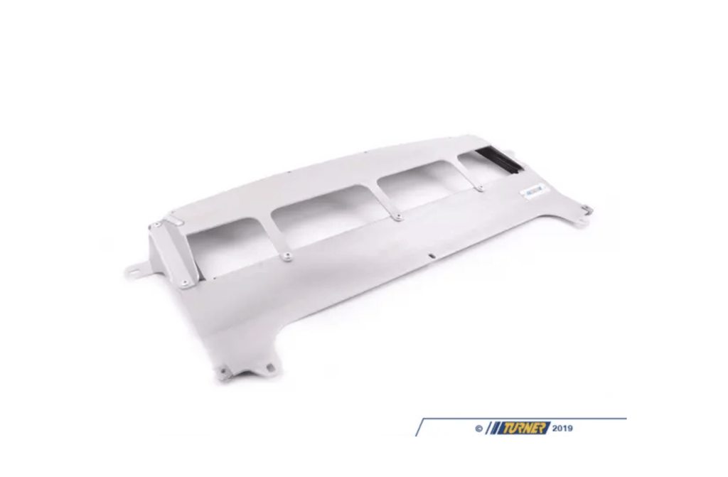 Turner Motorsport Skid Plate - Natural Finish - F80 M3, F82/83 M4