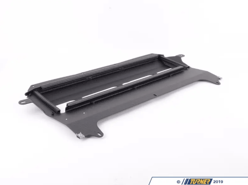 Turner Motorsport Skid Plate - Wrinkle Black Powdercoat Finish - F80 M3, F82/83 M4 - Kies Motorsports