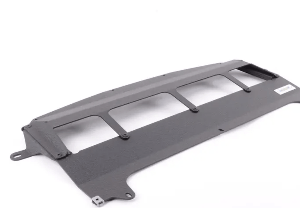 Turner Motorsport Skid Plate - Wrinkle Black Powdercoat Finish - F80 M3, F82/83 M4