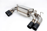 Dinan Free Flow Stainless Exhaust with Black Tips for BMW F87 M2 - Kies Motorsports