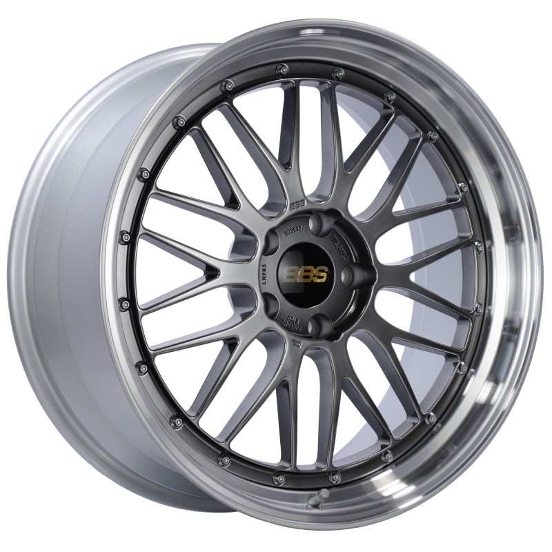 BBS LM 20x9 5x120 ET20 Diamond Black Center Diamond Cut Lip Wheel -82mm PFS/Clip Required