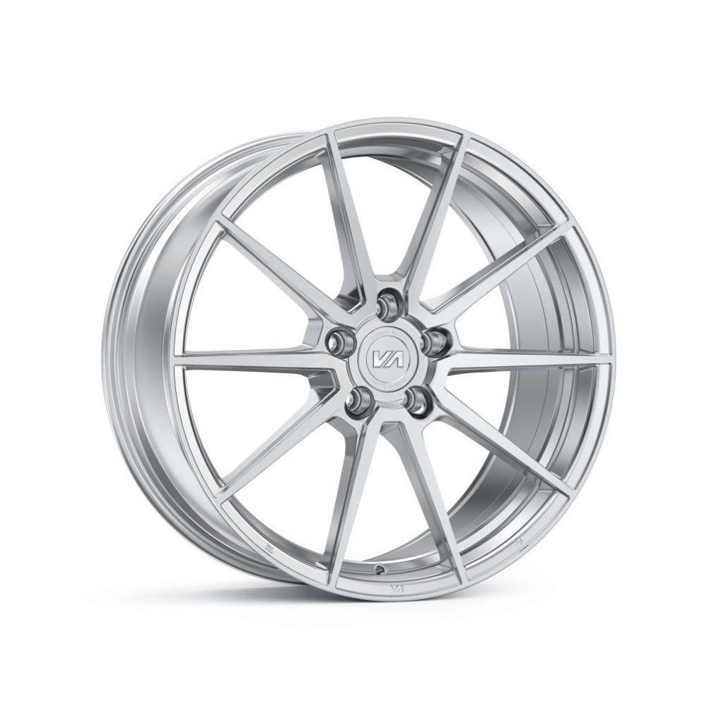Variant Argon (Silver Machine Face) Wheels - Kies Motorsports