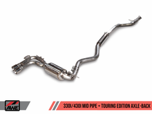 Load image into Gallery viewer, AWE Tuning F30/F32 BMW 328i/330i/428i/430i Touring Edition Axle-Back Exhaust Suite
