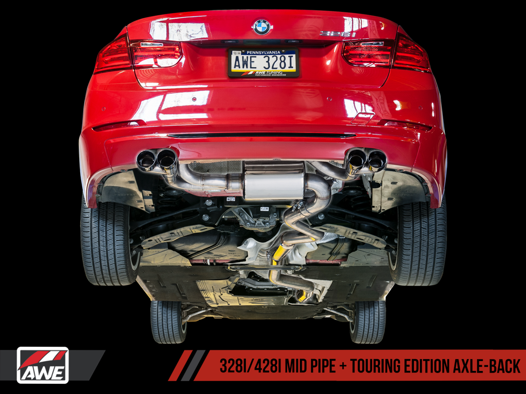 AWE Tuning F30/F32 BMW 328i/330i/428i/430i Touring Edition Exhaust Suite