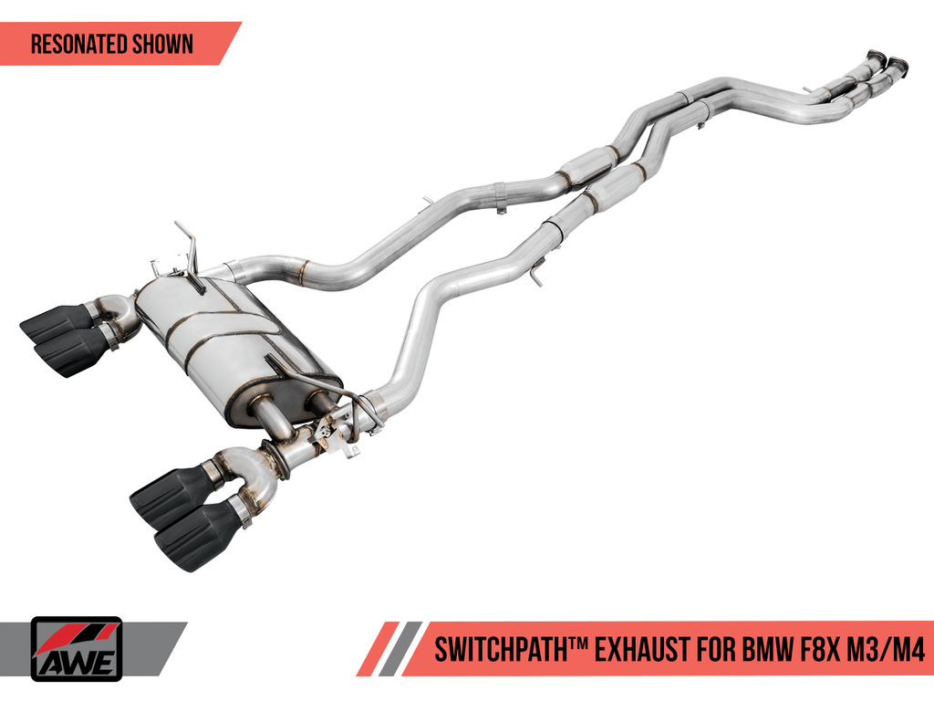 AWE Tuning F8X S55 Switchpath Exhaust Suite for M3 / M4