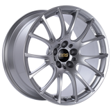 BBS RE-V 19x10 5x120 ET25 Diamond Silver Wheel -82mm PFS/Clip Required