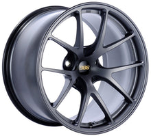 Load image into Gallery viewer, BBS RI-A 18x9.5 5x120 ET40 Matte Graphite Wheel -82mm PFS/Clip Required