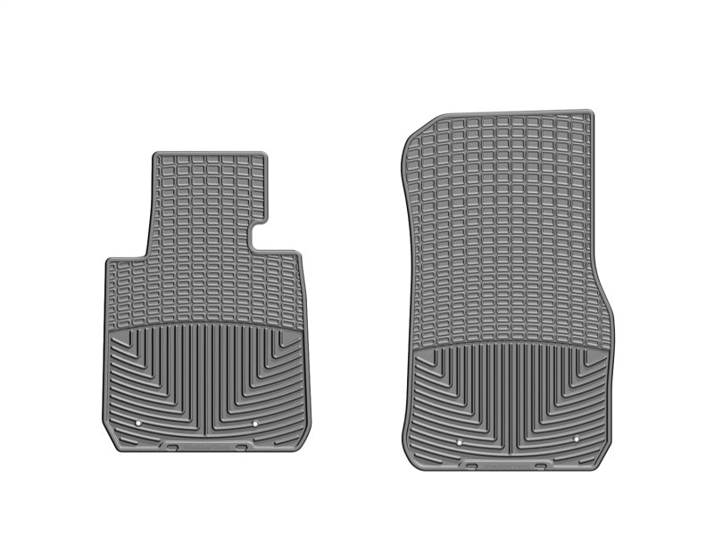 WeatherTech 12+ BMW 3-Series (F30) Front Rubber Mats - Grey