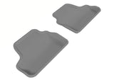 3D MAXpider 2007-2013 BMW 3 Series E93 Kagu 2nd Row Floormats - Gray