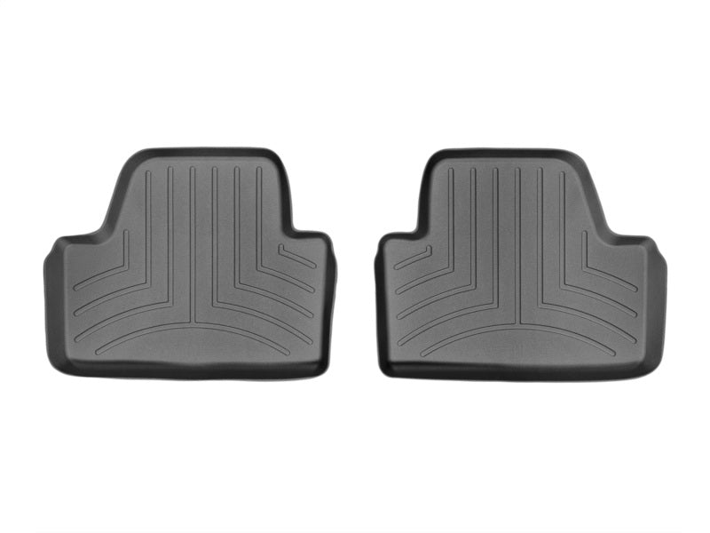 WeatherTech 14+ BMW 4-Series Rear FloorLiner - Black