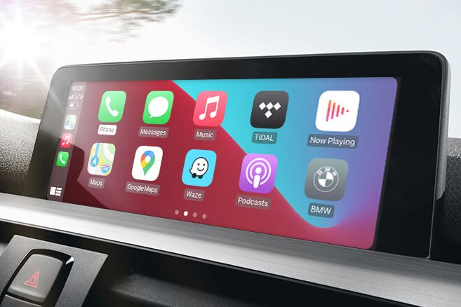 Bimmertech CarPlay and AndroidAuto MMI Prime Retrofit for BMW