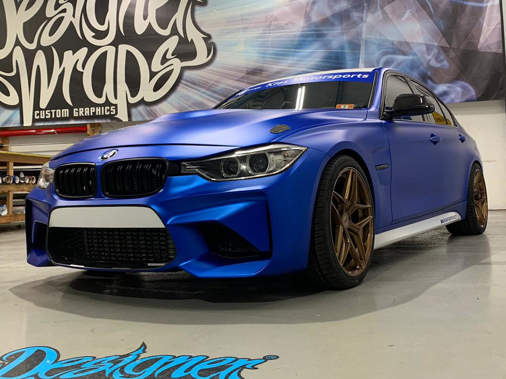 2012-2018 BMW F30 3 Series M2 Style Front Bumper Conversion