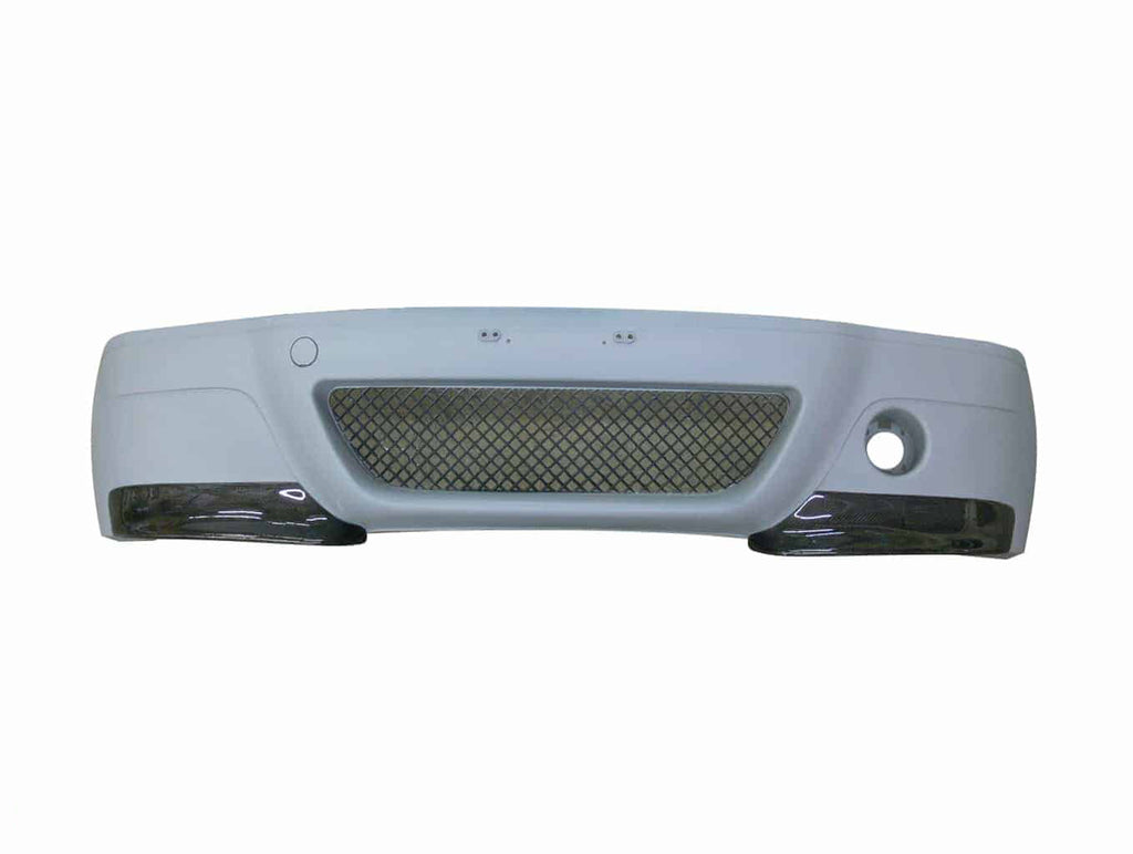 2002-2006 BMW E46 CSL Style Front Bumper with Carbon Splitters